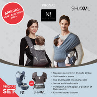 NO.5+ Shawl SET