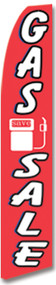 Swooper Flag - Red Gas Sale Image