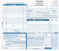 "ARO-637-4   Automotive Repair Work Order - 4 Part Carbon Copy (11"" x 8"")"