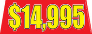 $14995 Red Windshield Banner