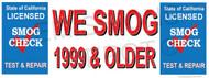 We Smog 1999 & Older   Old Version   Test and Repair   Vinyl Banner