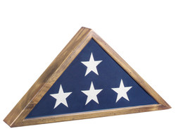 Heartland Antique Pine Flag Case. Made in U.S.A.