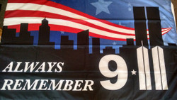 Always Remember 9-11. Made in U.S.A.