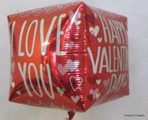 Valentine's Day Square Mylar