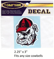 Georgia Bulldogs Decal