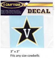 Vanderbilt Commodores Decal