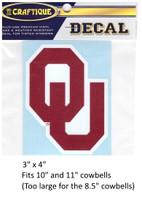Oklahoma Sooners Decal