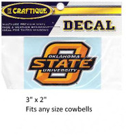 Oklahoma State Cowboys Decal