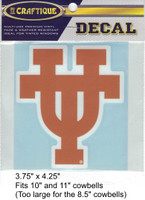 "Texas Longhorns Decal (3.75"")"
