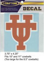 "Texas Longhorns Decal (3.75"")"