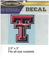"Texas Tech Red Raiders Decal (2.5"")"