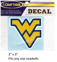 West Virginia Mountaineers Decal