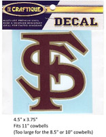 "Florida State Seminoles Decal (4.5"")"