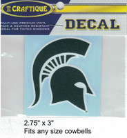 "Michigan St. Spartans decal (2.75"")"