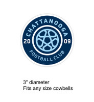 Chattanooga Football Club decal