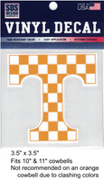 Tennessee Vols Decal (checkered)