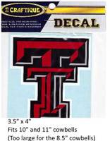 "Texas Tech Red Raiders Decal (3.5"")"