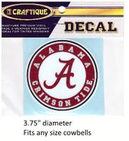 Alabama Crimson Tide Decal