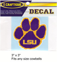 LSU Decal