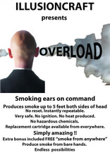 Smoke from your ears