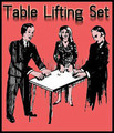 Table lifting set