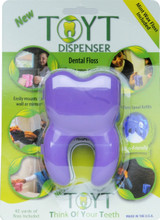 TOYT Dental Floss Dispenser in Purple