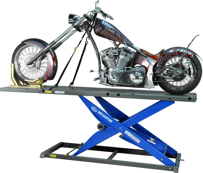 K L Motorcycle Hydraulic Lift : Motorcycle lift k l mc derek weaver co inc