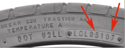 Tire Serial Number