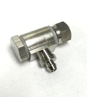 Weaver Banjo Bolt for single 6mm hose