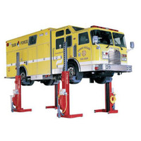Forward Lift FMLForw4 Mobile Column Lift with Fire Rescue Truck