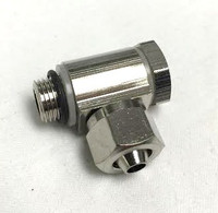 Weaver Banjo Bolt for single 8mm Hose