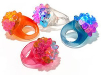 36 Flashing Jelly Rings