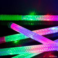 24 Rainbow Flashing Batons