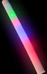 30 Rainbow Flashing Foam Sticks