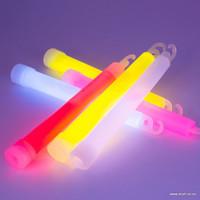 "6"" Glowsticks with lanyard"
