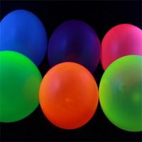 10 UV Neon Balloons