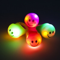 36 Flashing Smiley Face Rings