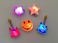 50 Flashing Badges - Assorted Mix