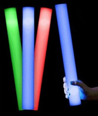 30 Flashing Foam Sticks - Mix