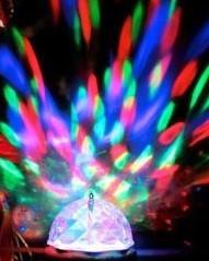 Rotating Disco Bulb