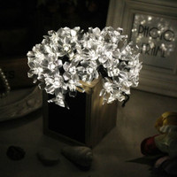 Solar LED Cherry Blossom String Lights