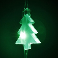 2m AA Green Tree Lights