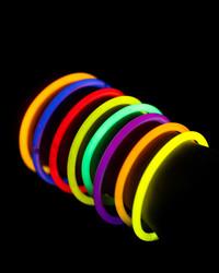 50 Glowstick Bracelets - free with 'danceoff' code