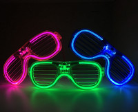 24 Multi Function LED Shutter Glasses *New*
