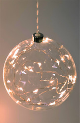 Sphere Hanging Glass Light