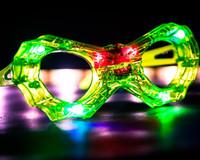 24 Pack LED Spiderkid Glasses