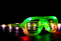 Multi Function LED Shutter Glasses