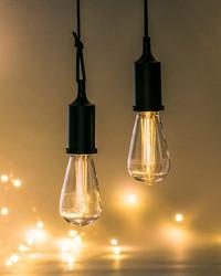 Hanging Edison Style Light Bulb