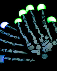 4 Pairs of  LED Gloves