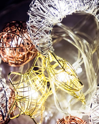 Starry Nights Woven Wire Fairy Lights